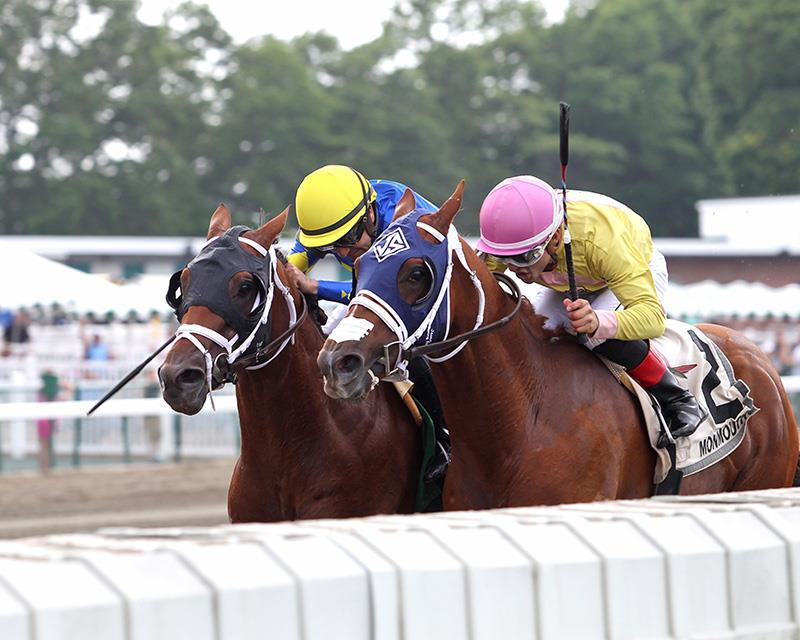 Fed Biz's Bronzed wins thriller for first stakes victory title=