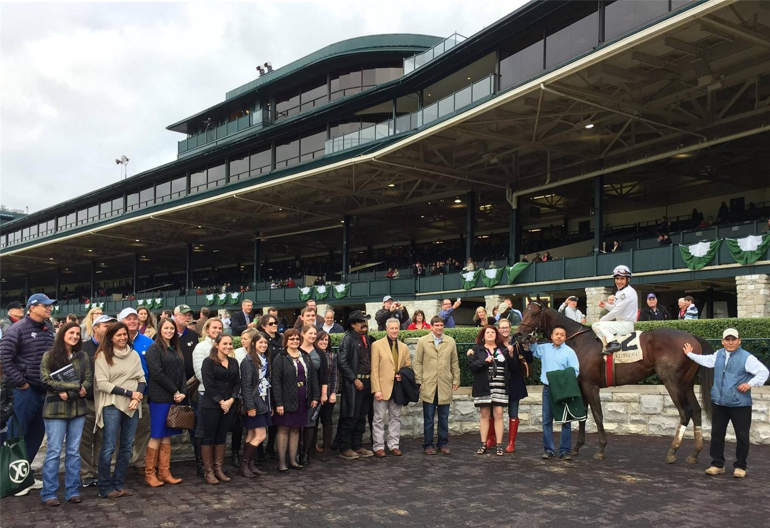 WinStar Farm Keeneland November sale consignment wrap