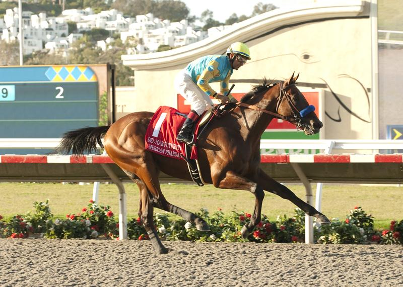 American Pharoah rules Del Mar Futurity (G1)