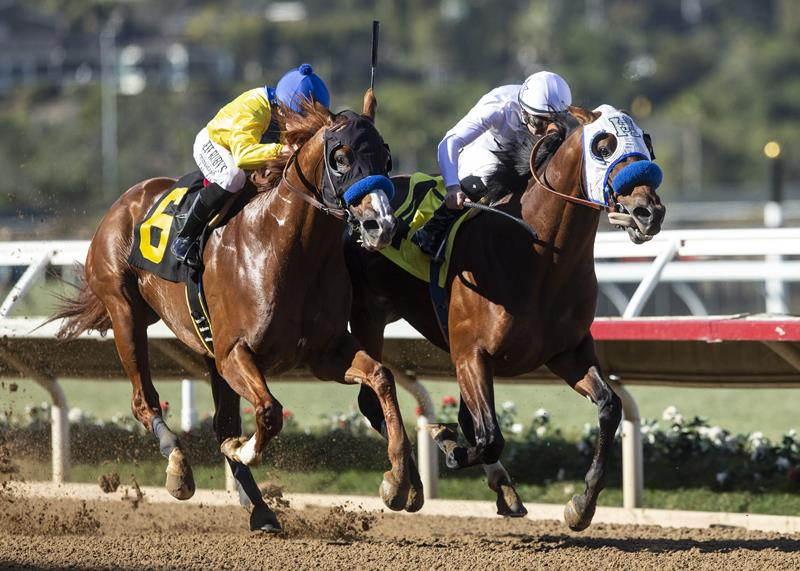 Battle of Midway outduels Dabster to take Del Mar's Native Diver S. (G3) title=