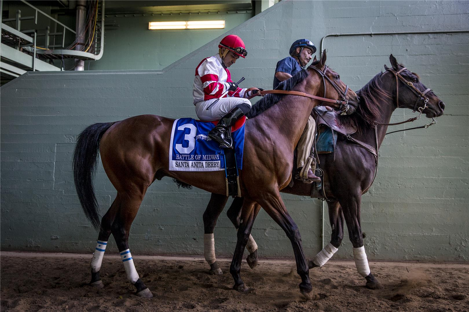 WinStar & Don Alberto purchase Kentucky Derby contender Battle of Midway title=
