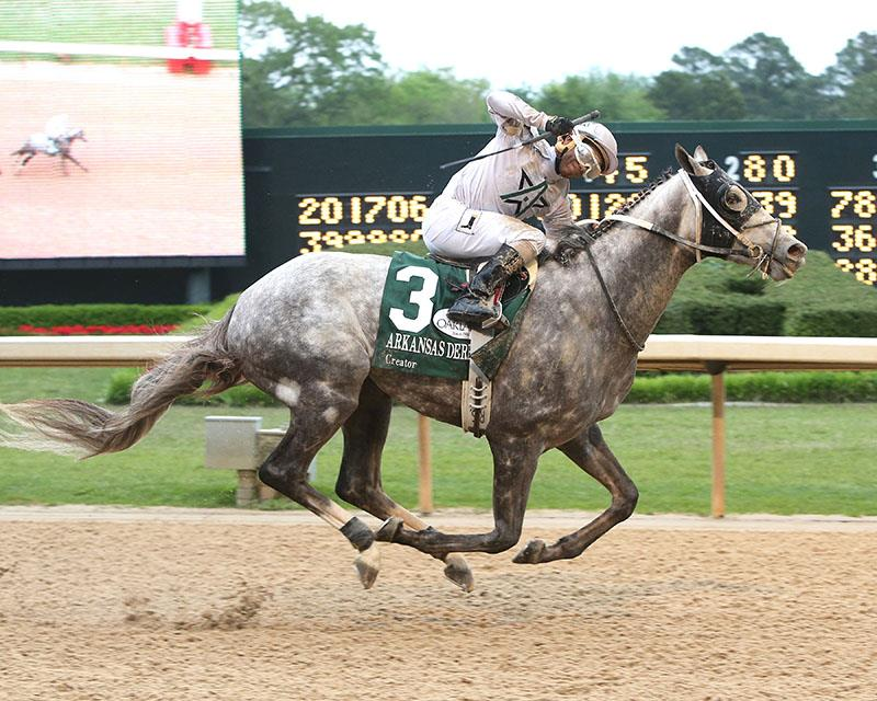 Post 3 for Creator in Kentucky Derby 142 title=