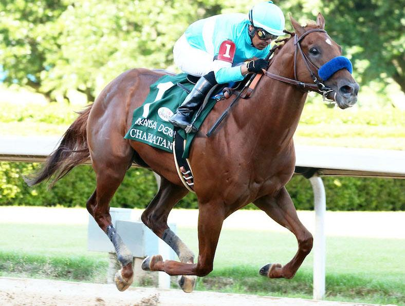 Speightstown's Charlatan shines in Arkansas Derby (G1) title=