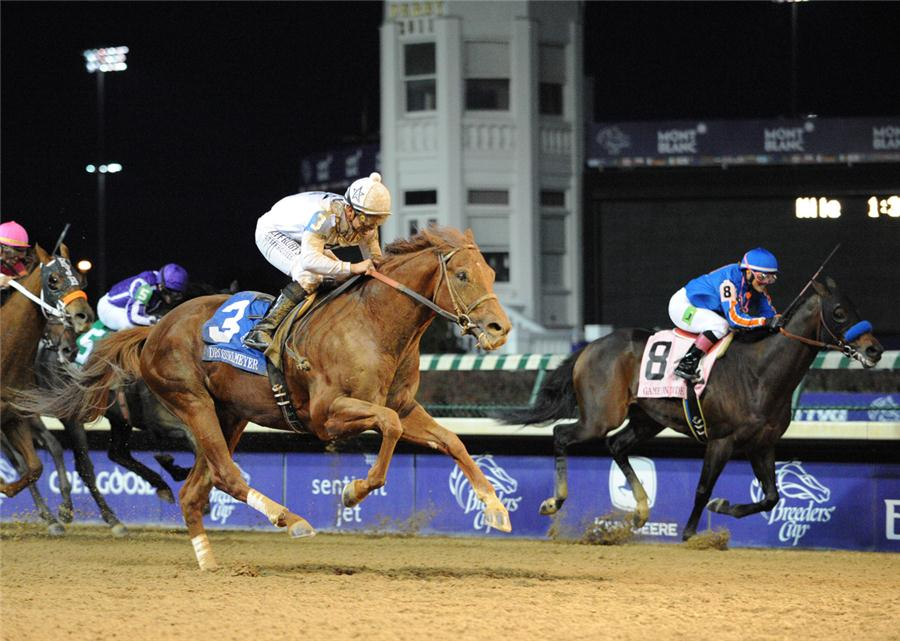 Drosselmeyer wins BC Classic for WinStar