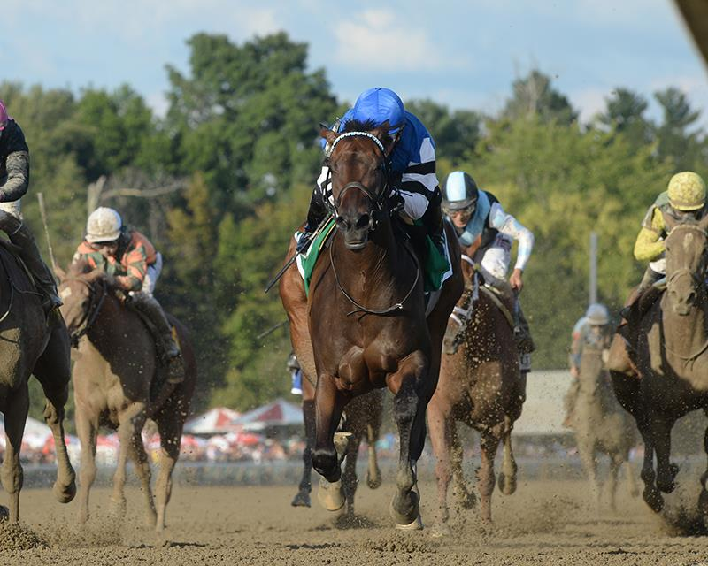 Super Saver's Embellish the Lace takes them all the way in G1 Alabama S. title=