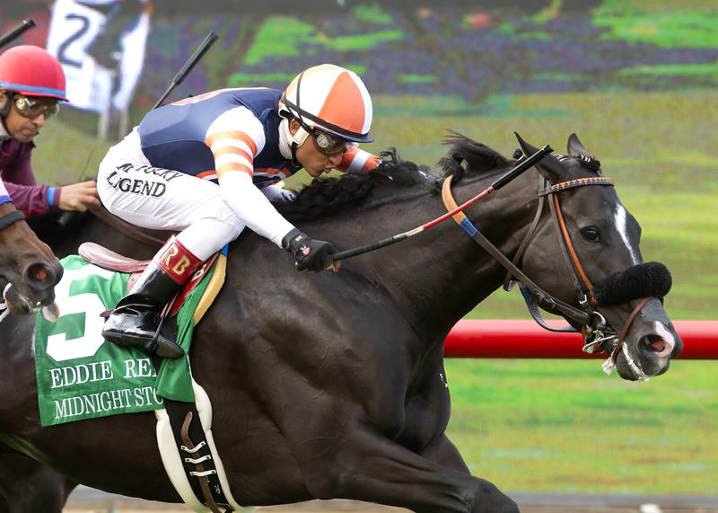 Midnight Storm repels all challengers in Eddie Read S. (G2) title=