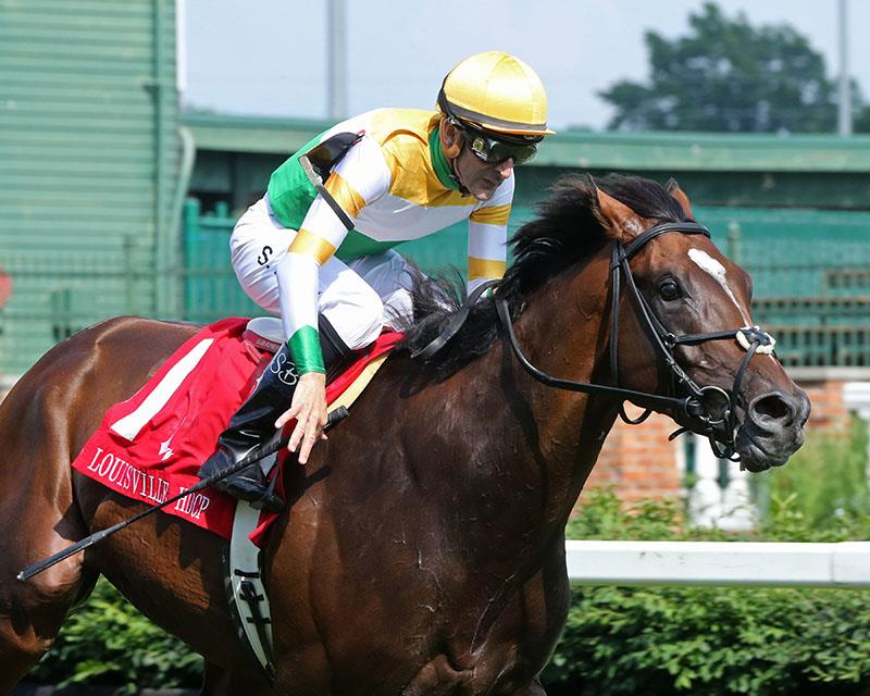 Tiz a Slam ships in to take $100,000 Louisville S. (G3) title=