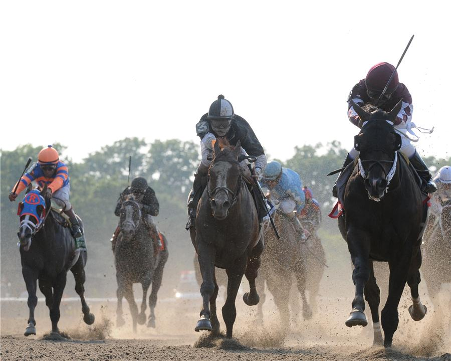 Tizway earns 113 Beyer with dazzling Met Mile (G1) triumph title=