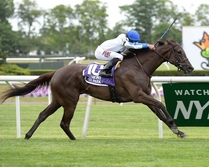 Zindaya streaks to second straight stakes triumph title=