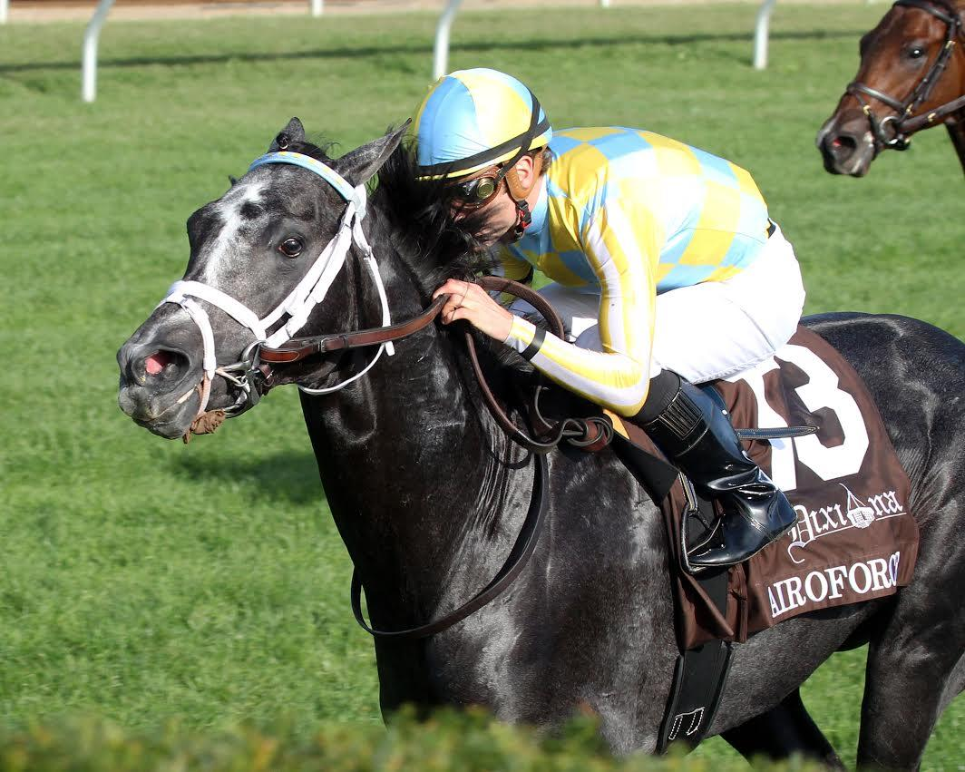 Undefeated Aeroforce gives Colonel John two juvenile colts in Breeders' Cup title=