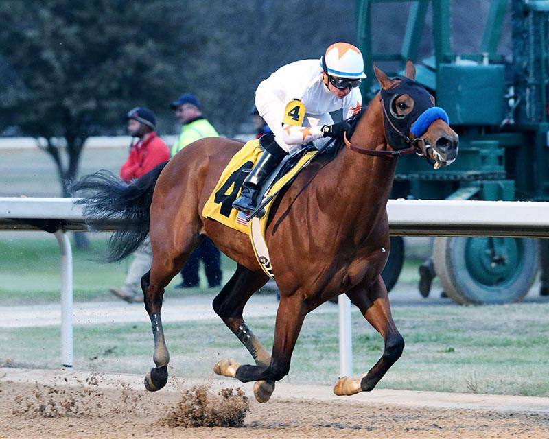 Super Saver's Mourinho dominates Smarty Jones S. title=