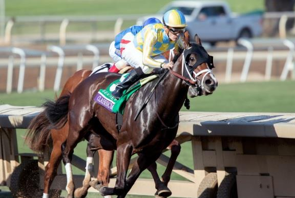 Classic Empire stakes championship claim with Breeders' Cup Juvenile (G1) victory title=