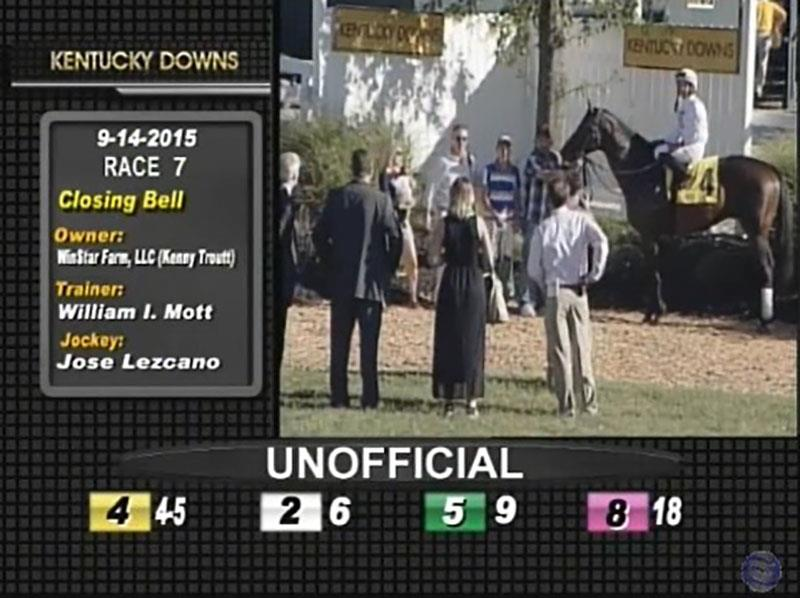 Closing Bell rings up first stakes win in $300,000 Dueling Grounds Derby title=