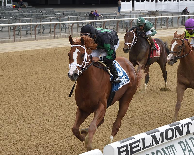 Promise Keeper takes Peter Pan S. (G3) to give Constitution another Belmont S. (G1) hopeful title=