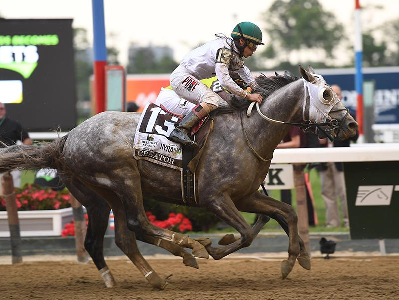 Late surge carries Creator to Belmont S. (G1) victory title=