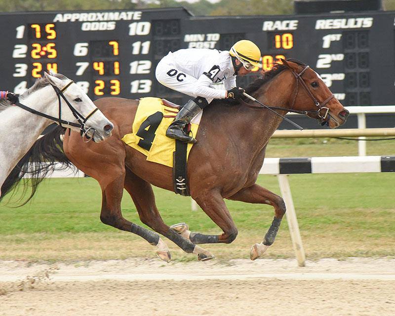 Well Humored sets stakes record in Wayward Lass S. title=