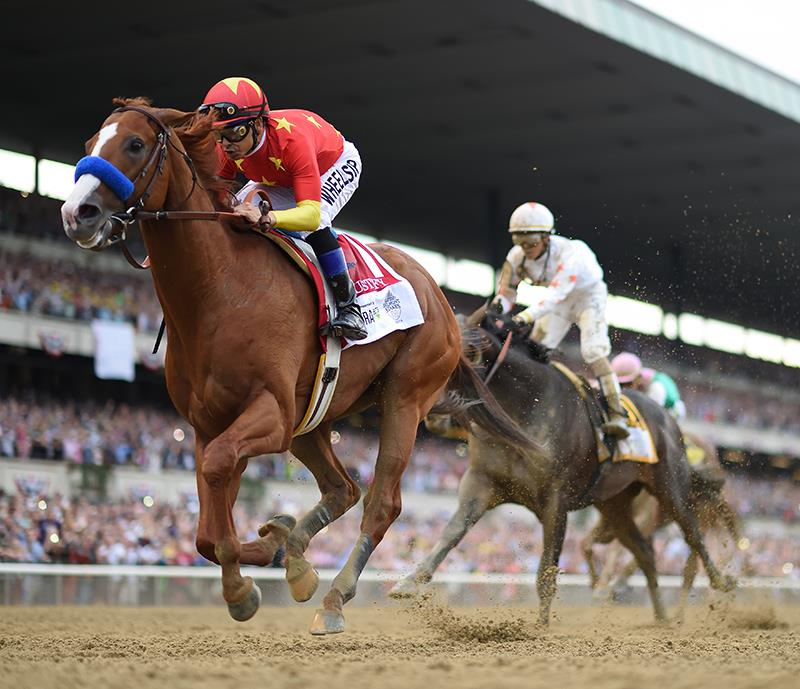 Justify makes history with Belmont S. (G1) win title=