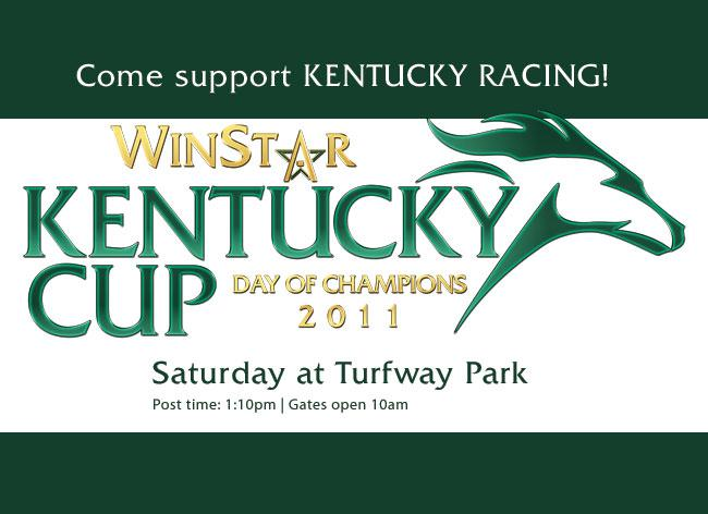 Grade 2 WinStar Kentucky Cup highlights Turfway Park's Day of Champions title=