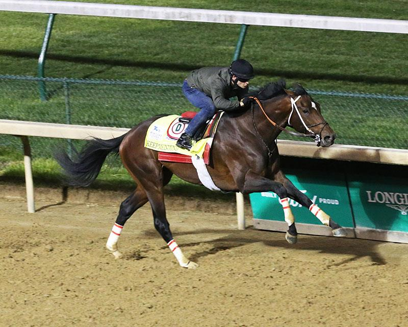 Laoban's first Kentucky Derby (G1) starter draws post 4 title=