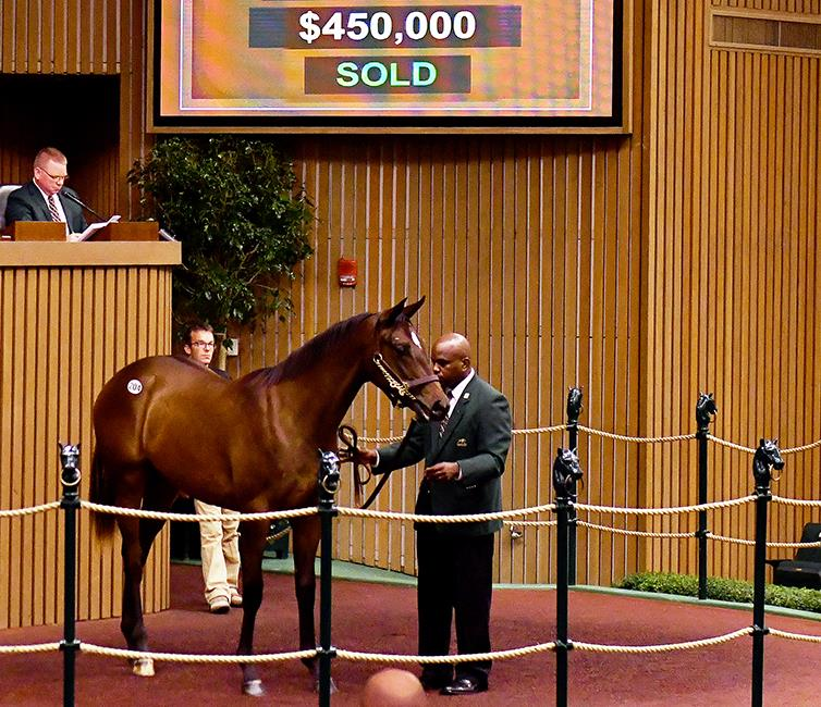 Keeneland day 2: More Than Ready filly hammers for $450K title=