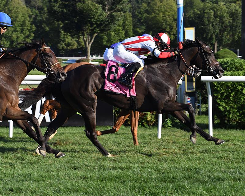 Selflessly storms home to take the Lake George S. (G3) title=