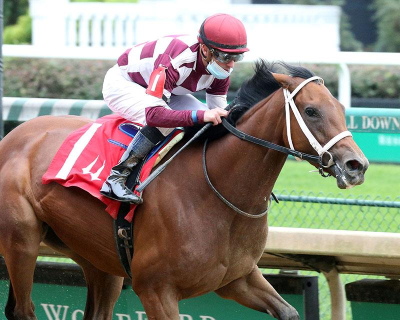 Malloy powers to her maiden-breaking win at Churchill Downs - Coady photo