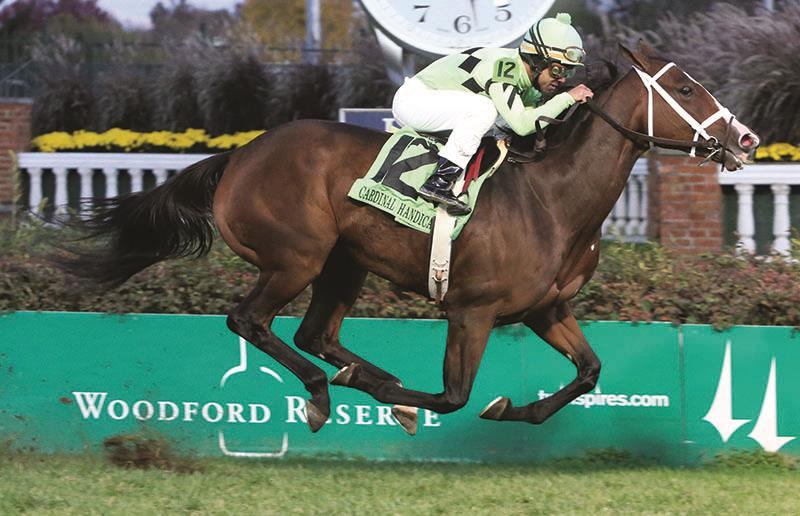 Cash Control gets the money in the Grade 3 Cardinal H. title=