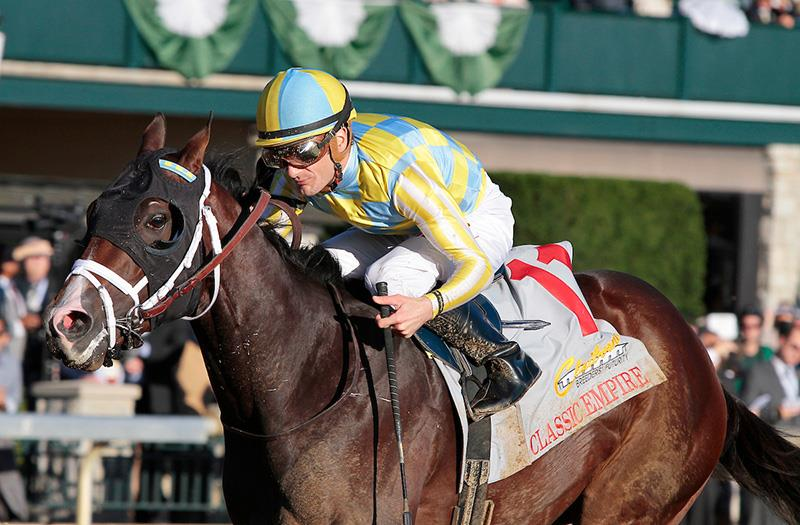Classic Empire rules in Keeneland's Breeders' Futurity (G1) title=