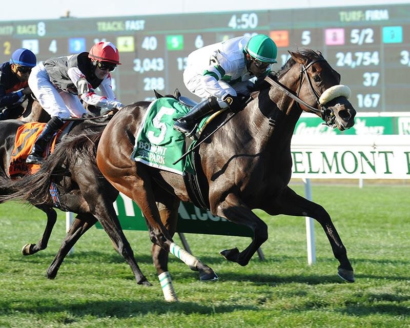Recepta rallies to take Grade 3 Noble Damsel S. title=