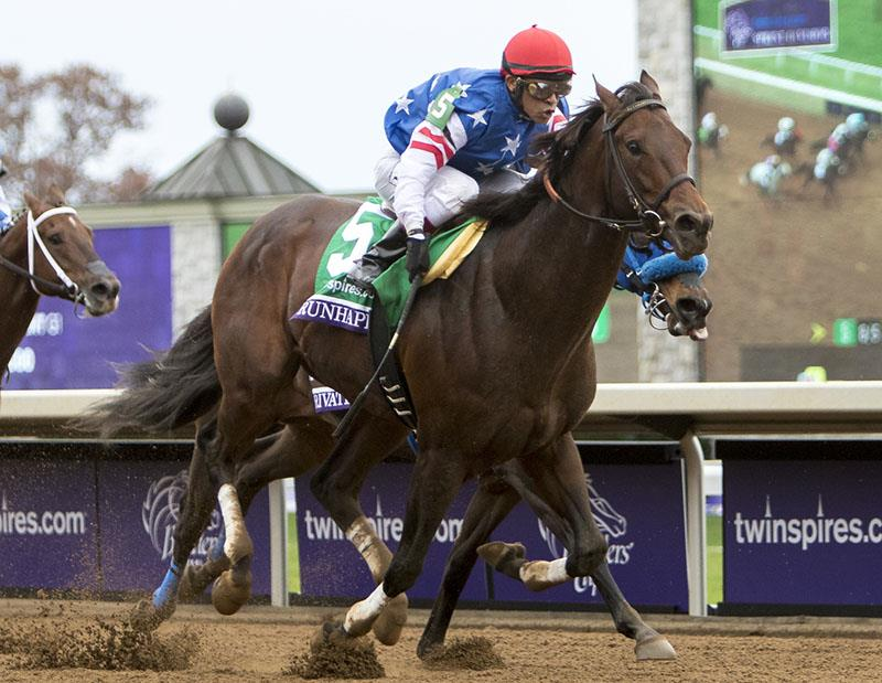 Runhappy sets track record in Breeders' Cup Sprint title=