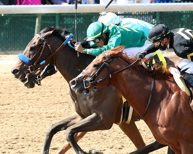 Flagstaff leads 1-2 finish for Speightstown in Churchill Downs S. (G1) title=
