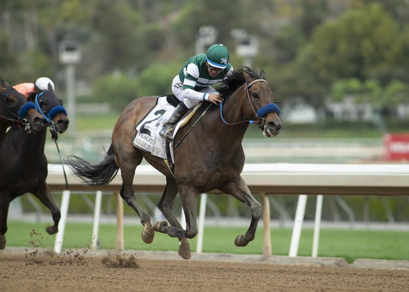 Speightstown's Flagstaff gets first graded win in $200,000 San Carlos S. (G2) title=