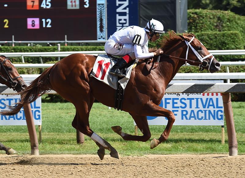 National Flag cruises in Saratoga MdSpWt win title=