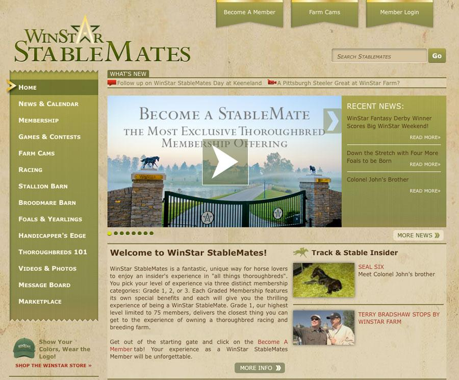 WinStar launches Stablemates title=