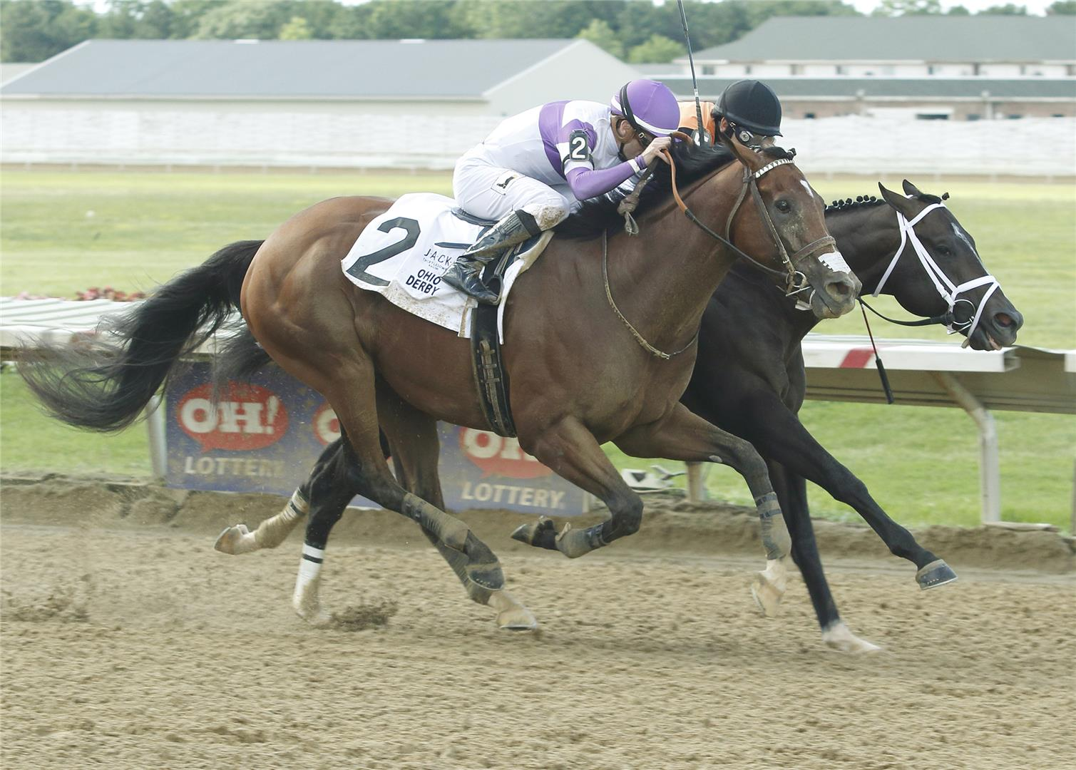Irap out games Girvin in $500,000 Ohio Derby (G3) title=