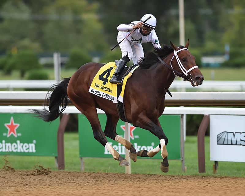 Global Campaign leads all the way in the Woodward (G1) title=