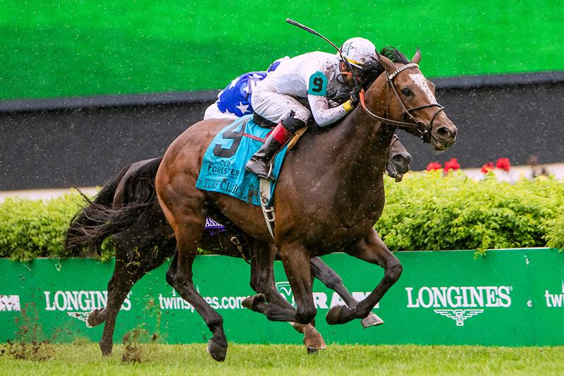 Yoshida captures the Grade 1 Turf Classic on May 5, 2018 at Churchill Downs - Eclipse Photo
